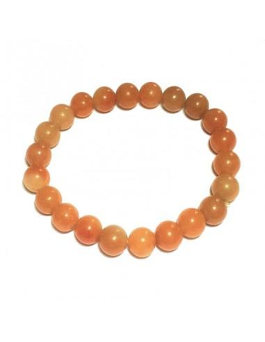 Bracelet Aventurine Orange 8mm